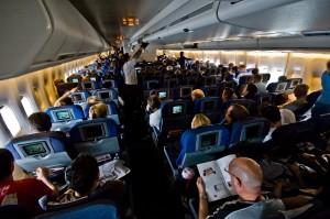 inside a boing 747